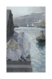 In the Harbour of Algiers Premium Giclee Print by Anders Zorn