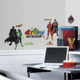 Justice League Peel & Stick Wall Decals Wall Decal