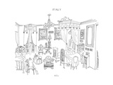 Billet - New Yorker Cartoon Premium Giclee Print by Saul Steinberg