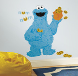 Sesame Street - C Is For Cookie Monster Peel And Stick Giant Wall Decals Wall Decal