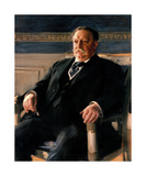 Official White House Portrait of William Howard Taft Premium Giclee Print by Anders Zorn