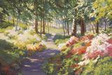 Winterthur's Azaleas Giclee Print by Martha Saudek