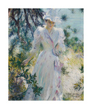 A Summer Idyll Premium Giclee Print by Edmund Charles Tarbell