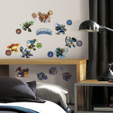 Skylanders Classic Peel And Stick Wall Decals Wall Decal