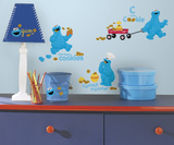 Sesame Street - Me Love Cookie Monster Peel And Stick Wall Decals Wall Decal
