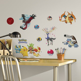 Pokemon XY Peel And Stick Wall Decals Wall Decal