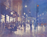 Clarence Happy Hour Giclee Print by David Hinchliffe