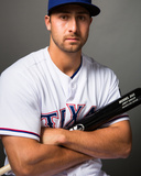 Texas Rangers Photo Day Photo by Rob Tringali