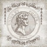 Ancient Coin I Giclee Print by  School of Padua