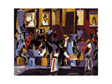 Street Shadows, 1959 Kunst av Jacob Lawrence