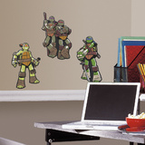 Teenage Mutant Ninja Turtles Foam Characters Wall Decal