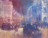 The Battle of Regent Street Impression giclée par David Hinchliffe