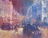 The Battle of Regent Street Giclee Print by David Hinchliffe
