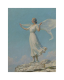 The South Wind Premium Giclee Print by Charles Courtney Curran