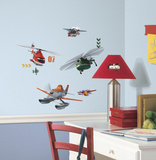 Planes Fire & Rescue Peel And Stick Wall Decals Wall Decal