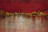 Paris at Night Giclee Print by  Kemp
