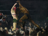 Both Members of this Club Giclee Print by George Wesley Bellows
