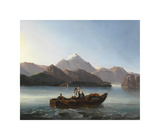 The Seascape Premium Giclee Print by Anton Schranz