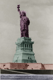 New York Postcard - Liberty Giclee Print by Chris Dunker