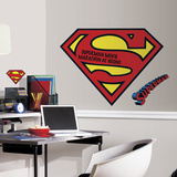 Superman Logo Dry Erase Peel And Stick Giant Wall Decals Wall Decal