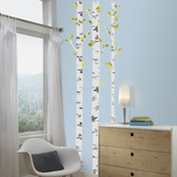 Birch Trees Peel And Stick Giant Wall Decals Wall Decal