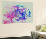 Mini Cooper Wall Mural by  NaxArt