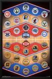 NBA - Logos 15 Posters