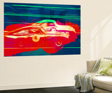 Aston Martin Vs Porsche Wall Mural by  NaxArt
