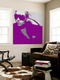 Niki In Glasses Wall Mural by  NaxArt