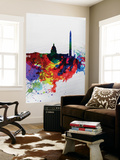 Washington DC Watercolor Skyline 1 Wall Mural by  NaxArt