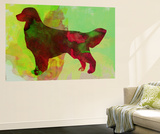 Golden Retriever Wall Mural by  NaxArt