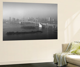 Grand View Of Tokyo Wall Mural by  NaxArt