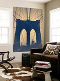 Brooklyn Bridge Wall Mural by  NaxArt