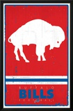 Buffalo Bills - Retro Logo 15 Print