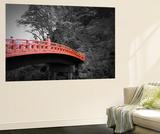Nikko Red Bridge Wall Mural by  NaxArt