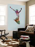 Dancer Watercolor 5 Wall Mural by  NaxArt