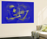Violinist Wall Mural by  NaxArt