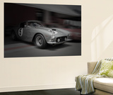 Ferrari 250 GTB Before The Race Wall Mural by  NaxArt