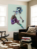 Dancer Watercolor Wall Mural by  NaxArt