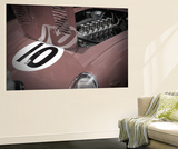 Ferrari open hood Wall Mural by  NaxArt