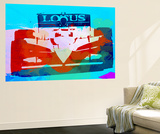 Lotus F1 Racing Wall Mural by  NaxArt