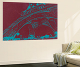 Eiffel Tower Wall Mural by  NaxArt