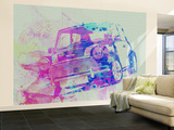 Mini Cooper Wall Mural – Large by  NaxArt