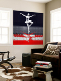 Ballerina Plan Wall Mural by  NaxArt