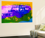 Land Rover Defender Wall Mural by  NaxArt