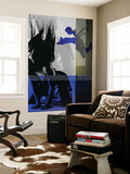 Blue Romance Wall Mural by  NaxArt