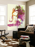 Challenger Girl Wall Mural by  NaxArt
