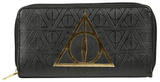 Harry Potter - Deathly Hallows Zip Wallet Wallet