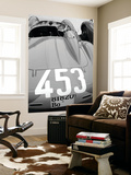 Ferrari Back Wall Mural by  NaxArt