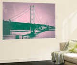 Golden Gate Bridge Wall Mural by  NaxArt